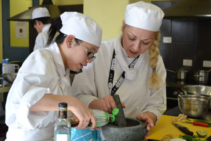 commercial cookery courses