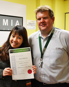 scholarship winners 2015 - kiki amelia