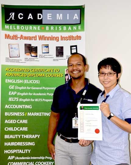 scholarship winners 2019 - yu ting kao