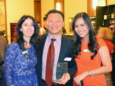 Outstanding Partnership Award 2012 CQ University